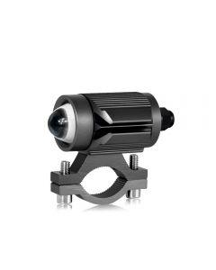 CNSUNNYLIGHT Tri-modello Faro LED per moto con mini obiettivo per proiettore Car ATV Driving Foglight Faretto ausiliario