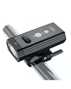 TOWILD BR1200 Luce per bicicletta incorporata 4000mAh IPX6 impermeabile USB ricaricabile luce per bicicletta