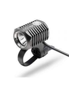 ON THE ROAD MX3-BL Set di luci per bicicletta anteriore ricaricabile Lampada per bici a LED Supporto USB Batteria 18650