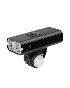 2*T6 LED Bicicletta Luce USB Ricaricabile 800 Lumen 6 Modalità Impermeabile Ciclismo Frontale Lampada Faro