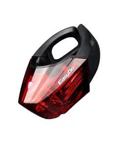 EasyDo Bike LED Torcia STVZO Allarme Posteriore Ciclismo Fanale posteriore MTB Lampada da bicicletta da strada